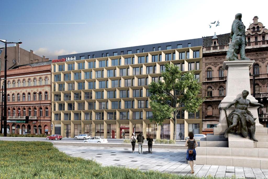 IntercityHotel Budapest, Mai 2021